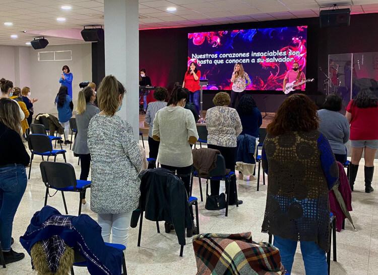 Reunión Área de Mujeres    Centro de Vida Cristiana
