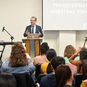 Visit of the pastor Aquiles Maza   Centro de Vida Cristiana